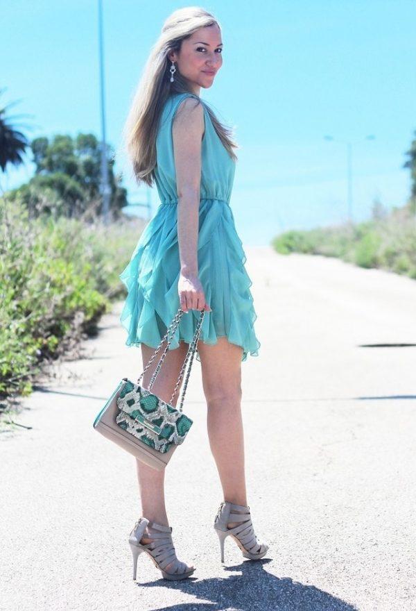pleated summer dress bmodish