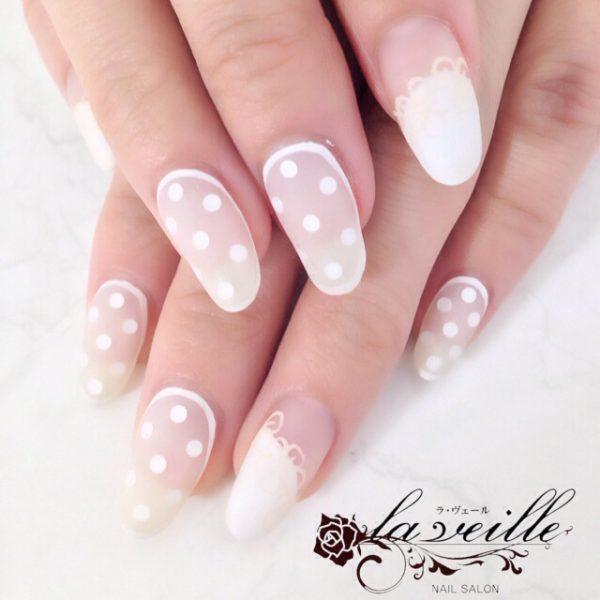 polka dots nail art bmodish