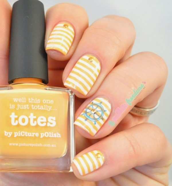 Attractive design of nautical nail art be modish pptotessailor2 bmodish prinsesfo Image collections