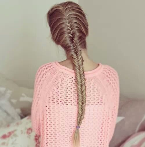 pretty fishtail braid bmodish