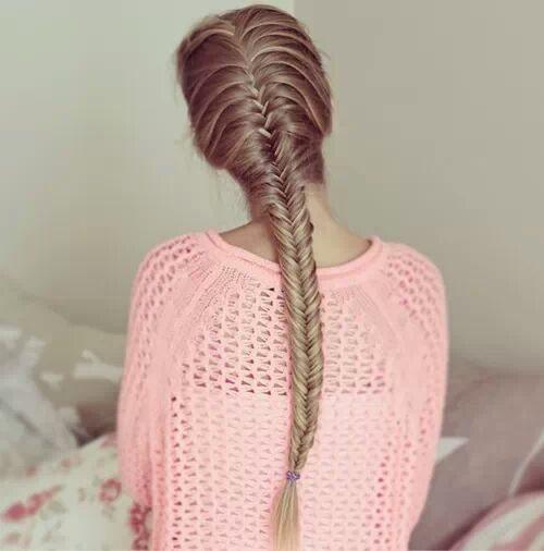 pretty fishtail braid bmodish