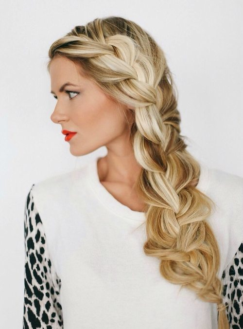 pretty long braid bmodish