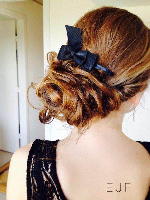 prom hair bmodish