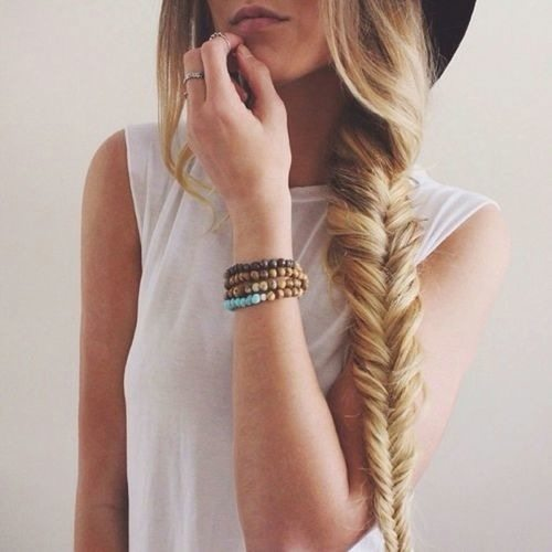 side fishtail braid bmodish