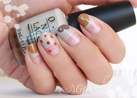 simple polka dot nail art bmodish 3