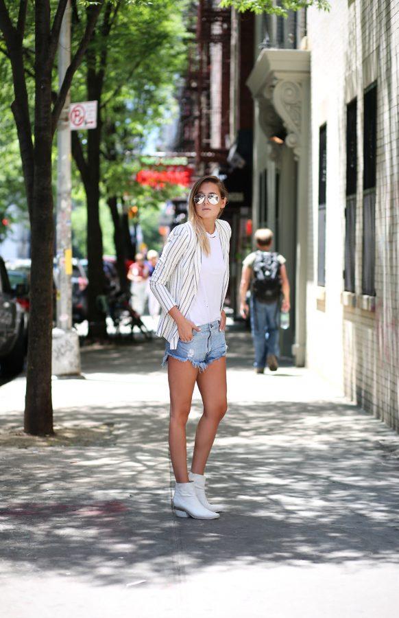stripe-blazer-shorts-bmodish
