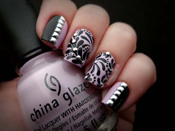 studded naildesign bmodish