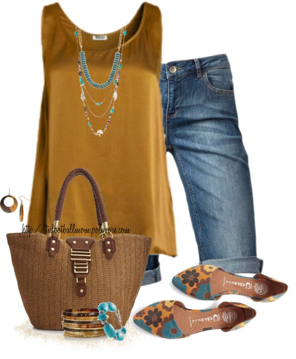 summer outfit with flat shoes bmodish