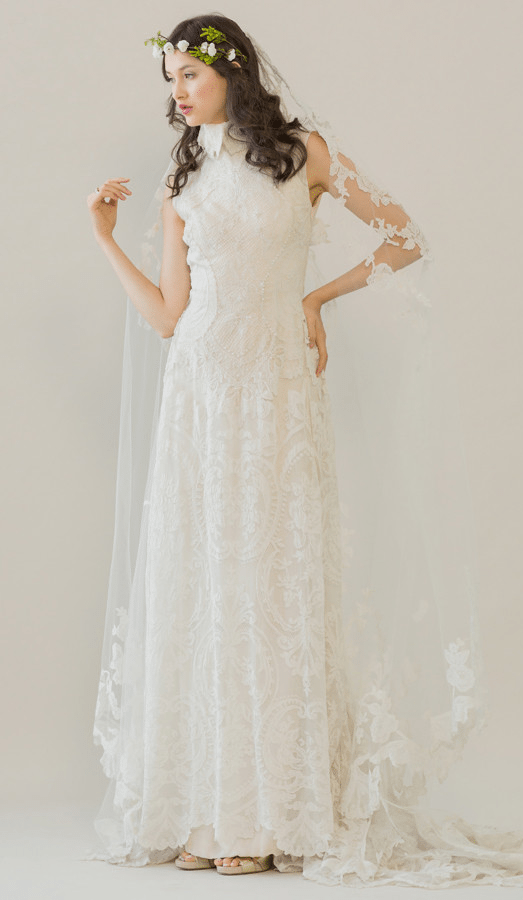 rue de seine wedding dress 1 bmodish