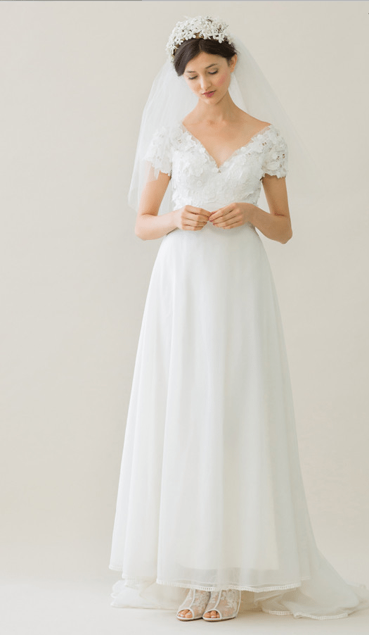 vintage rue de seine wedding dress 10