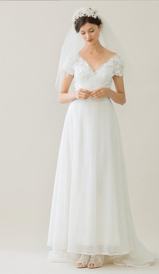 vintage rue de seine wedding dress 10