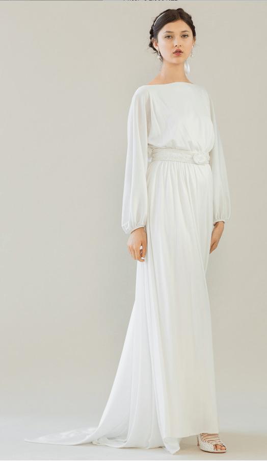 vintage rue de seine wedding dress 11