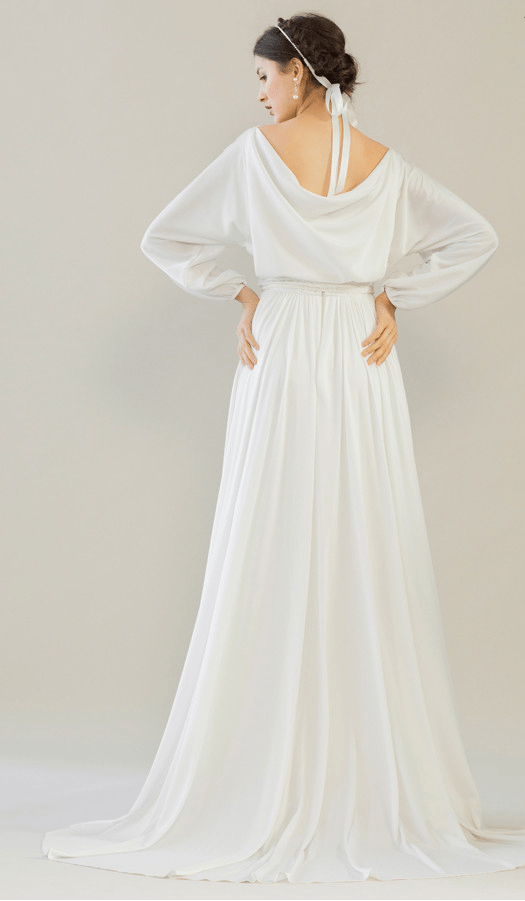 vintage rue de seine wedding dress 12