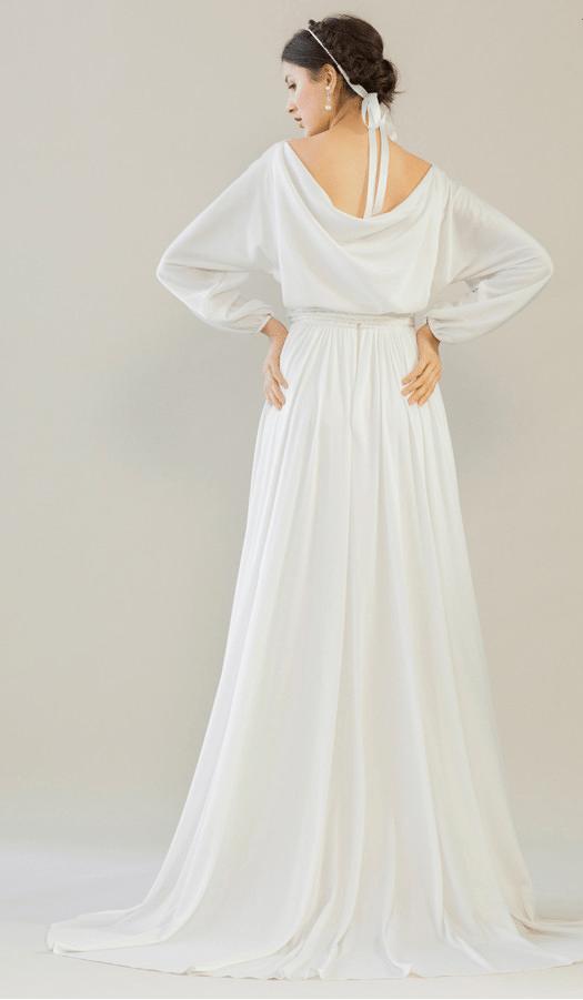 vintage rue de seine wedding dress 12