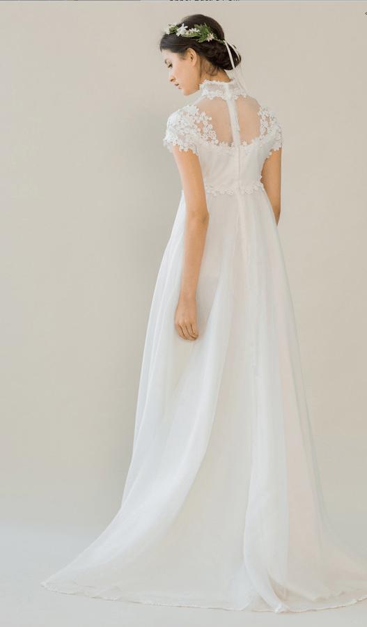 vintage rue de seine wedding dress 15 bmodish