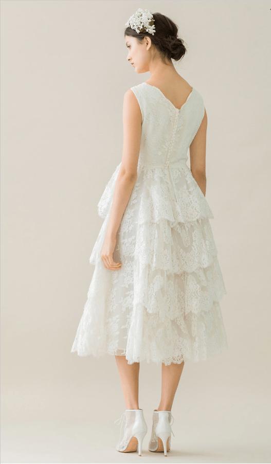 vintage rue de seine wedding dress 16 bmodish