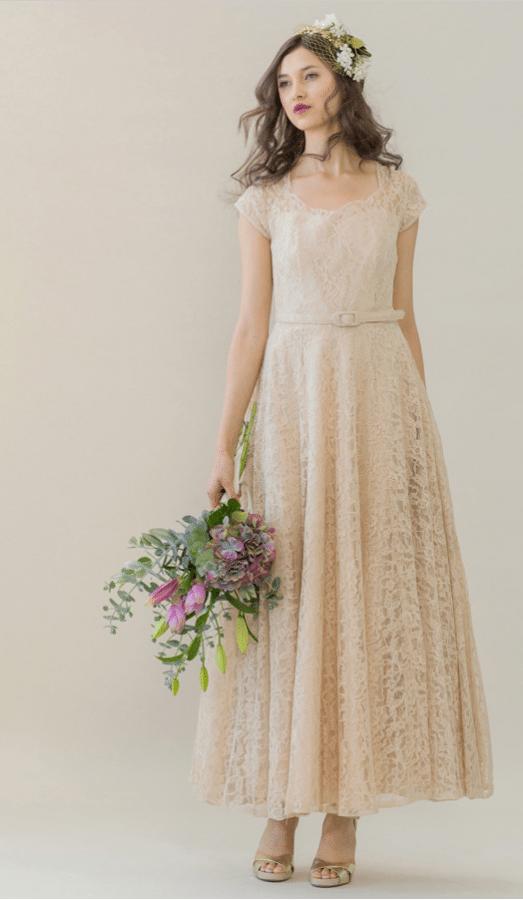 vintage rue de seine wedding dress 17 bmodish