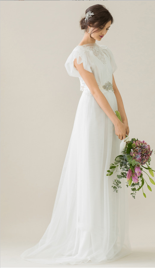 vintage rue de seine wedding dress 19 bmodish