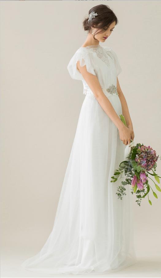 vintage rue de seine wedding dress 19 bmodish