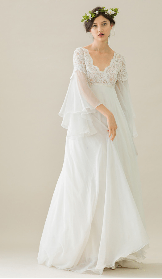 rue de seine wedding dress 2 bmodish