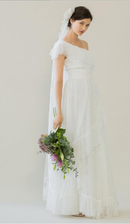 vintage rue de seine wedding dress 20 bmodish