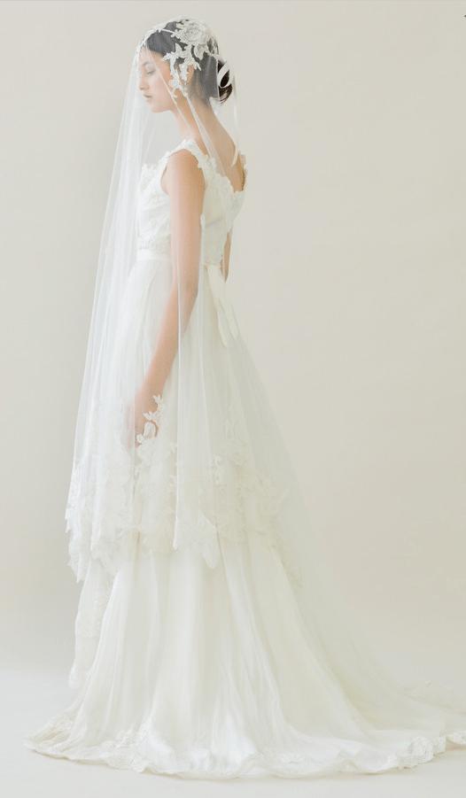 vintage rue de seine wedding dress 23 bmodish