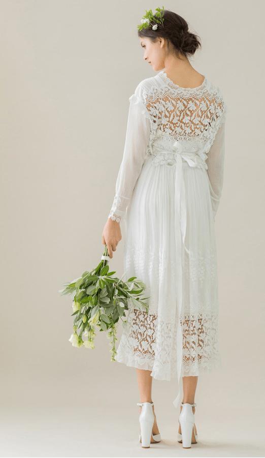 vintage rue de seine wedding dress 30 bmodish