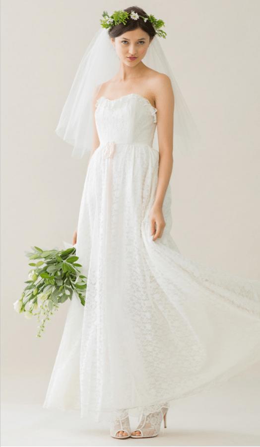 vintage rue de seine wedding dress 31 bmodish