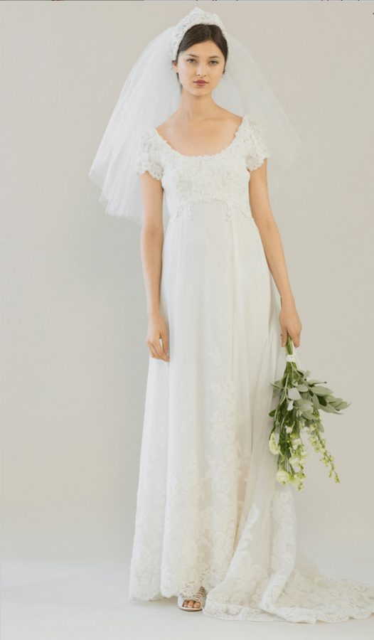 vintage rue de seine wedding dress 33 bmodish