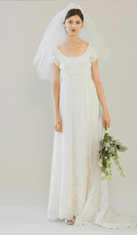 vintage rue de seine wedding dress 33 bmodish