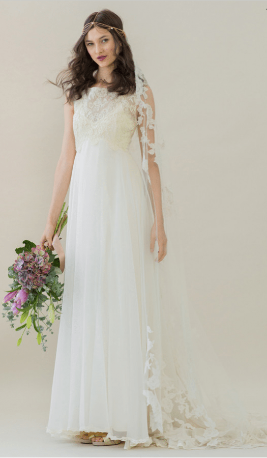 vintage rue de seine wedding dress 4 bmodish