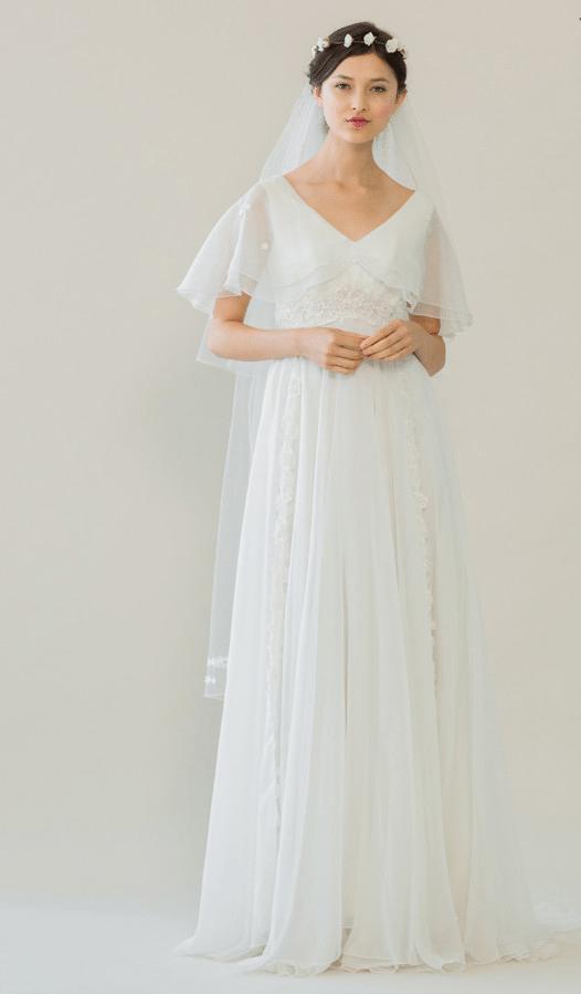 vintage rue de seine wedding dress 5 bmodish