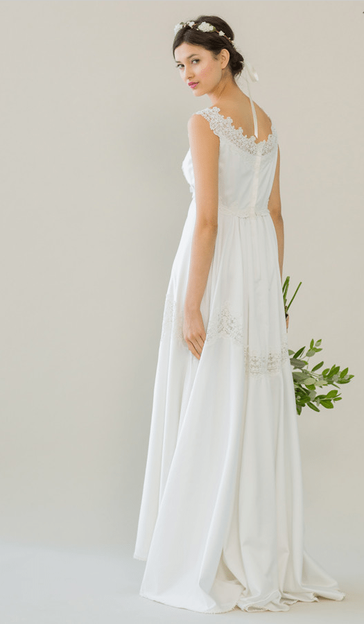 vintage rue de seine wedding dress 8