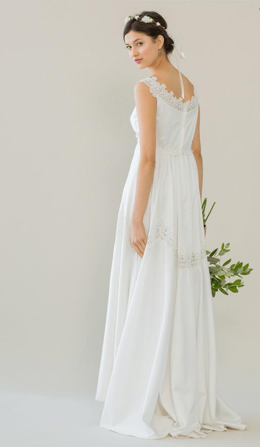 vintage rue de seine wedding dress 8