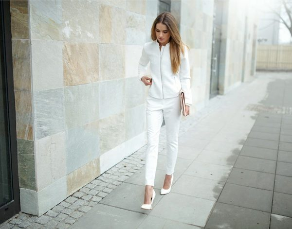 white suit bmodish