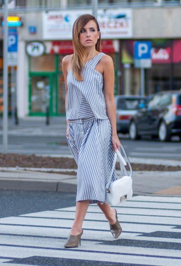 zara-dresses stripe bmodish