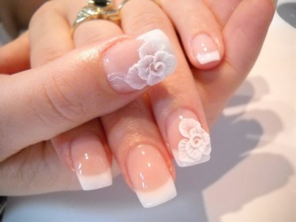 Floral-Wedding-Nail bmodish