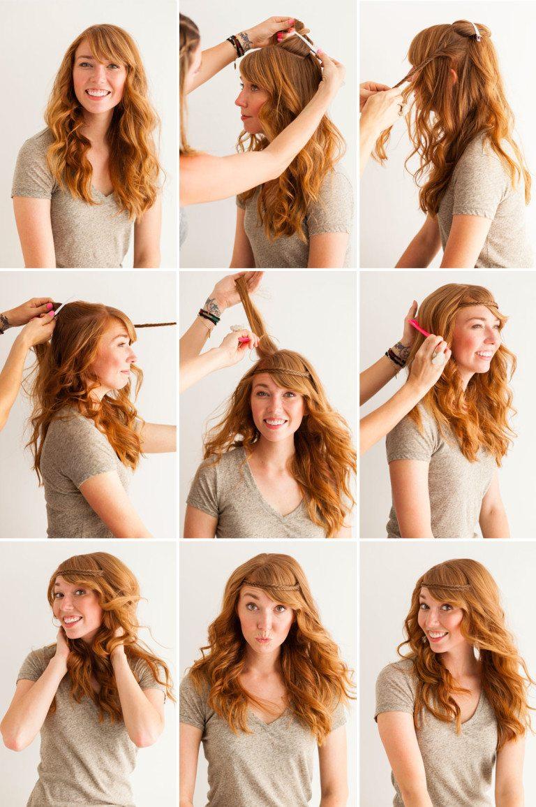 Что можно сделать с волосами своими руками 37