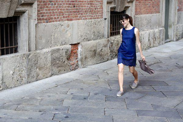 blue denim dress bmodish