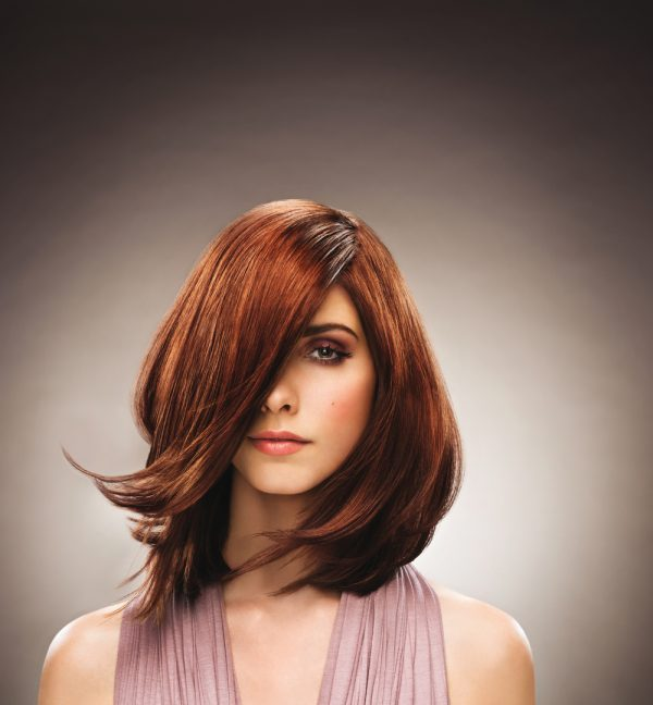 brown medium bob hair style bmodish
