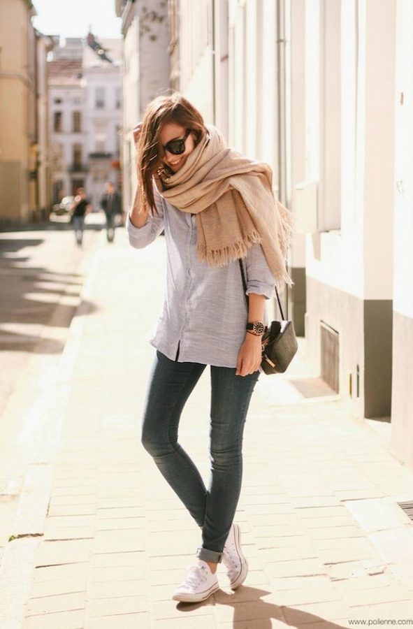 casual stripe buttonup shirt for spring bmodish