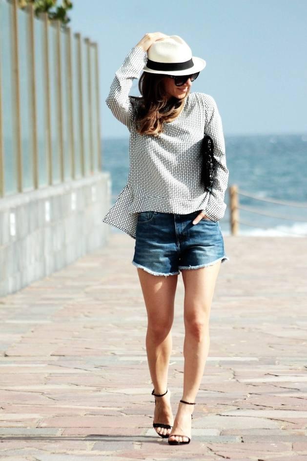casual zara blouse bmodish