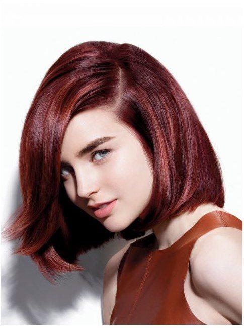 chesnut bob hairstyle bmodish
