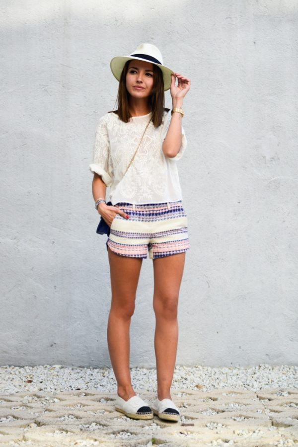 espadrilles, tribal short summer outfit bmodish