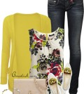 floral tank top outfit 13 bmodish