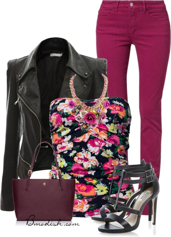 floral tank top outfit 20 bmodish