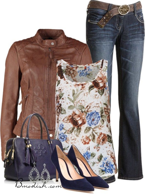 floral tank top outfit 9 bmodish