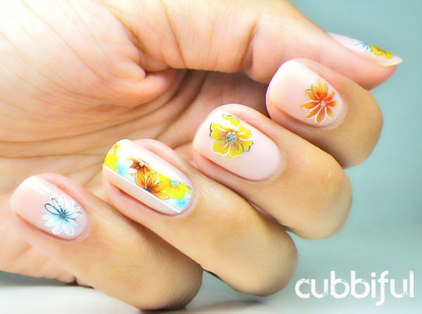 flower summer nail design 2 bmodish