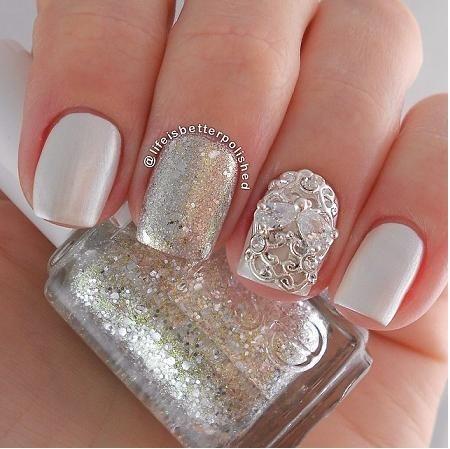 glamorous nail art bmodish