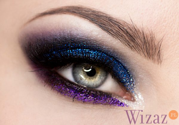 glamour glittery night eye makeup bmodish